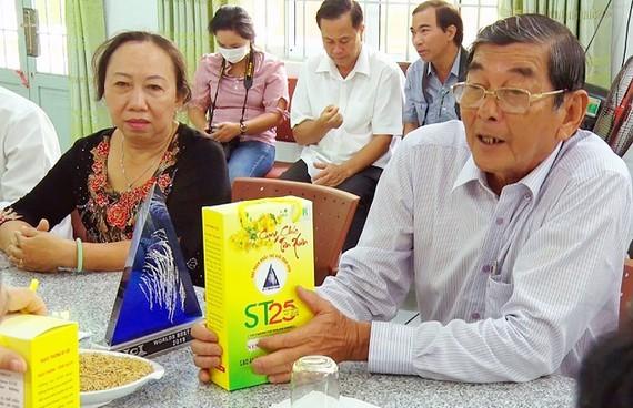 Doanh nghiệp Việt Nam phải đòi lại thương hiệu gạo ST25