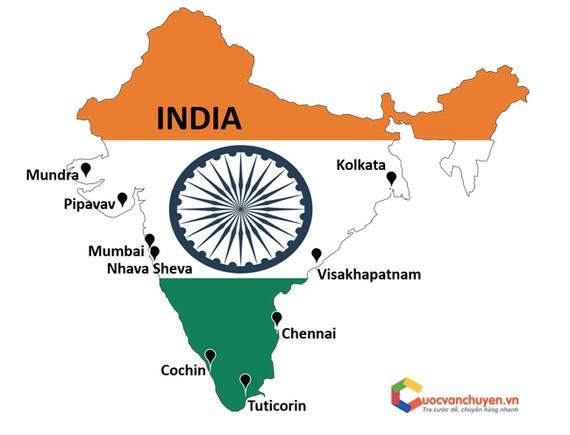 Một trong những thế mạnh của Ấn Độ đó là vận tải đường biển đi toàn cầu.