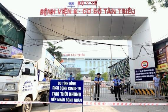 Nâng mức độ cảnh báo cao nhất với các bệnh viện