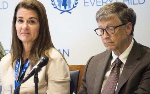Vợ chồng tỷ phú Bill và Melinda Gates - Ảnh: Reuters.