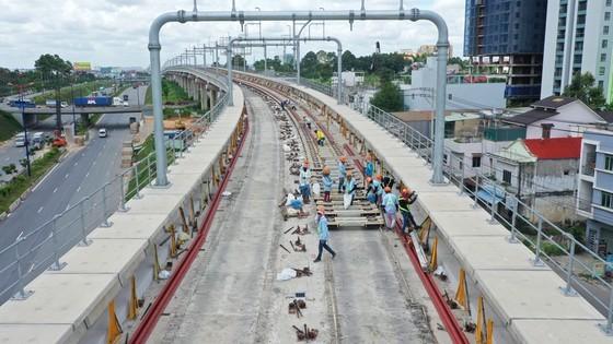 Dự án tuyến metro Bến Thành - Suối Tiên sử dụng nguồn vốn ODA. Ảnh: HOÀNG HÙNG