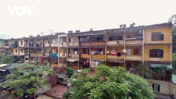 Thành phố Hà Nội hiện có khoảng 1.600 chung cư cũ cần cải tạo.