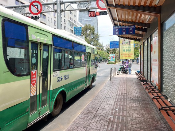 Trạm dừng Bến Thành của xe buýt TP.HCM