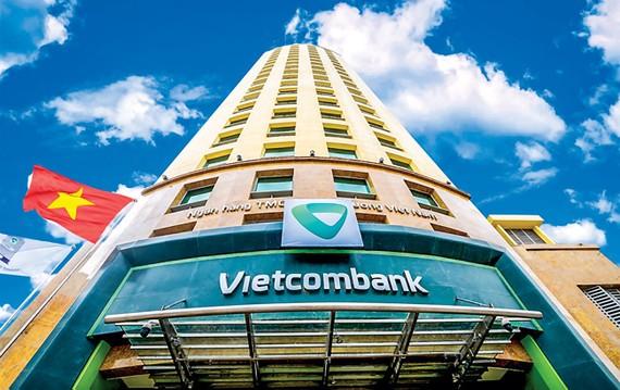 Vietcombank là một trong những ngân hàng có dư nợ lớn trên TTCK.