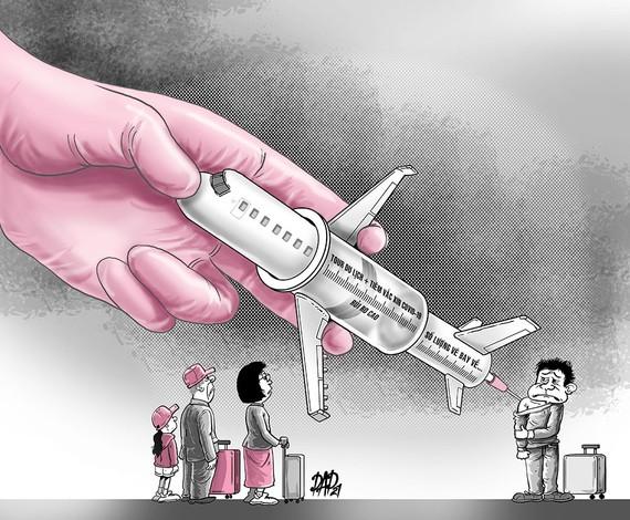 Rủi ro tour xuất ngoại tiêm vắc xin Covid-19