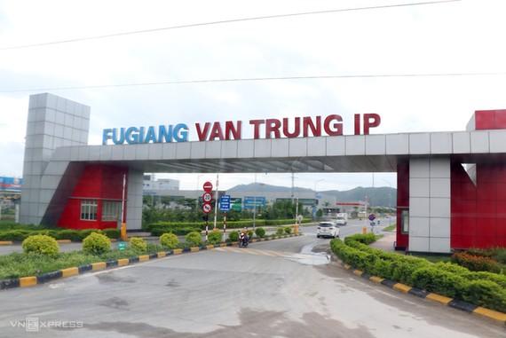 Khu công nghiệp Vân Trung (Bắc Giang). Ảnh: Võ Hải