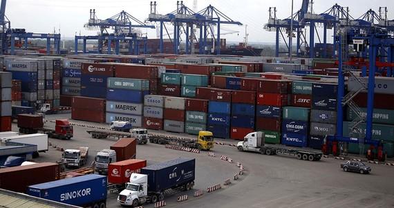Cảng Cát Lái thuộc Tổng công ty Tân cảng Sài Gòn