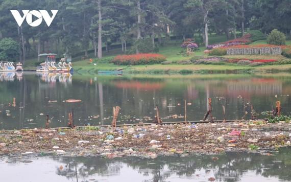 Hồ Than Thở Đà Lạt ngập tràn rác thải nông nghiệp