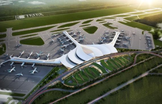 Dự án Cảng hàng không quốc tế Long Thành sẽ hoàn thành giai đoạn 1 vào năm 2025. (Ảnh: CTV/Vietnam+)