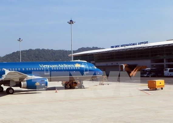 Cảng hàng không quốc tế Phú Quốc. (Nguồn: TTXVN)