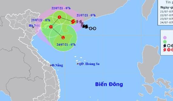 Bão số 3 khả năng đổi hướng vào vịnh Bắc Bộ, hai miền Bắc - Nam mưa lớn