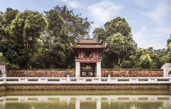 Di tích Văn Miếu-Quốc Tử Giám. (Ảnh: vanmieu.gov.vn)