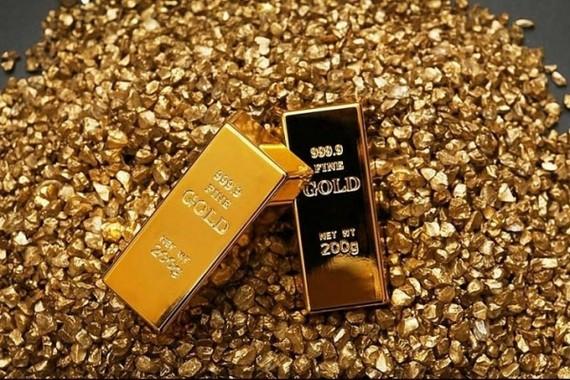 Giá vàng trong nước tăng, cao hơn giá thế giới gần 9 triệu đồng/lượng. (Ảnh minh họa: KT)