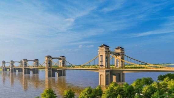 Cầu Trần Hưng Đạo vẫn chưa được thành phố Hà Nội chốt phương án kiến trúc. (Ảnh: KT)