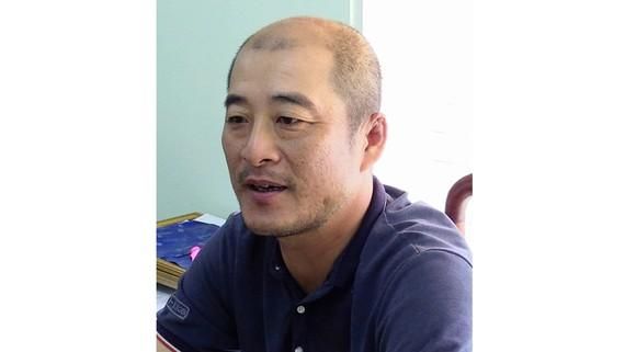 Đối tượng Lu Te Chiang tại cơ quan công an