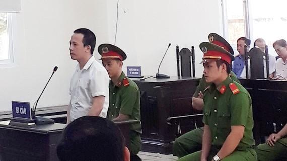 Bị cáo Trần Trọng Luận tại phiên tòa