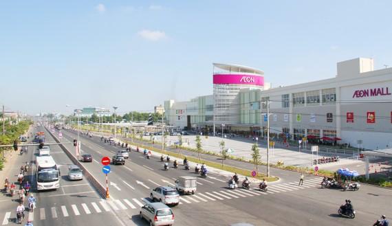 TP Thuận An tập trung nhiều siêu thị, ngân hàng, hãng xe hơi nổi tiếng
