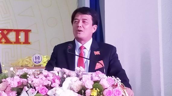 Đồng chí Bùi Thanh Nhân tái đắc cử Bí thư Thành ủy Dĩ An