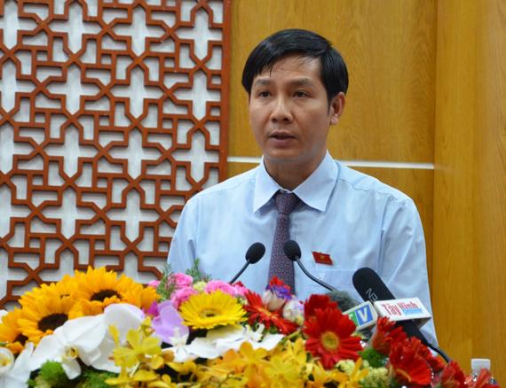 Đồng chí Nguyễn Thành Tâm, tân Bí thư Tỉnh ủy Tây Ninh. Ảnh: NGUYÊN VŨ