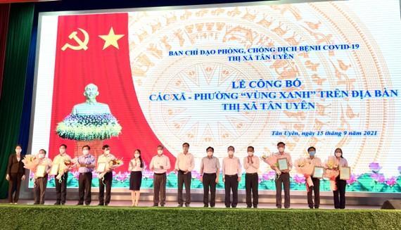 """Thị xã Tân Uyên đã có 6 xã phường đạt tiêu chí """"vùng xanh"""""""