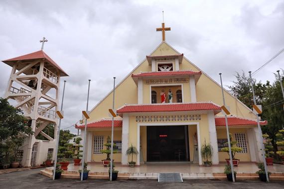 TPHCM đã quyết định xếp hạng Nhà thờ Thủ Thiêm (quận 2) là di tích kiến trúc nghệ thuật cấp thành phố. Ảnh: KIỀU PHONG