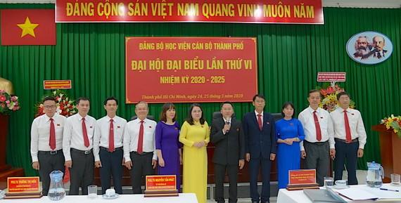 Ban Chấp hành Đảng bộ Học viện Cán bộ TPHCM nhiệm kỳ 2020-2025