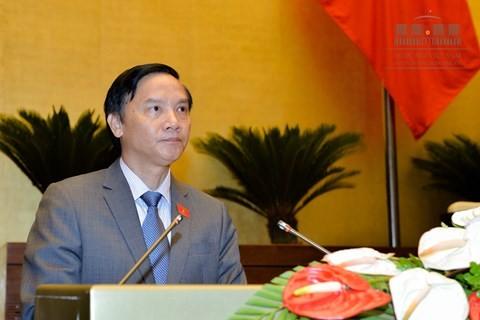 Ông Nguyễn Khắc Định, Chủ nhiệm Ủy ban Pháp luật của Quốc hội