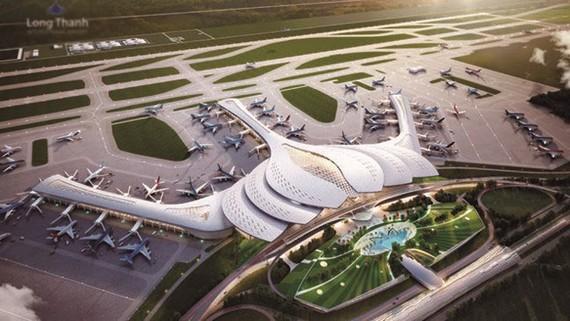 Một trong những đồ án thiết kế Nhà ga hành khách Cảng HKQT Long Thành