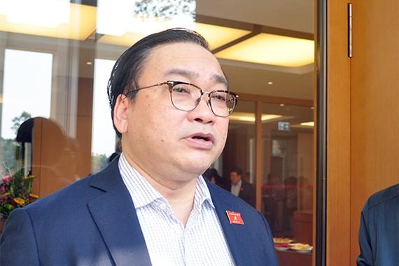 Bí thư Thành ủy thành phố Hà Nội Hoàng Trung Hải