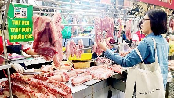 Giá thịt heo tháng 8 tăng 3,41% so với tháng 7-2018