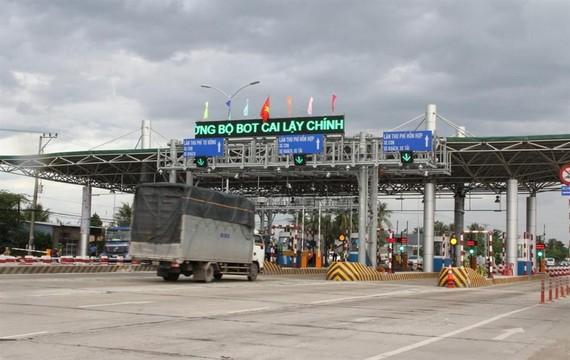 Trạm thu phí BOT Cai Lậy - Tiền Giang là một trong những trạm thu phí nhiều vướng mắc