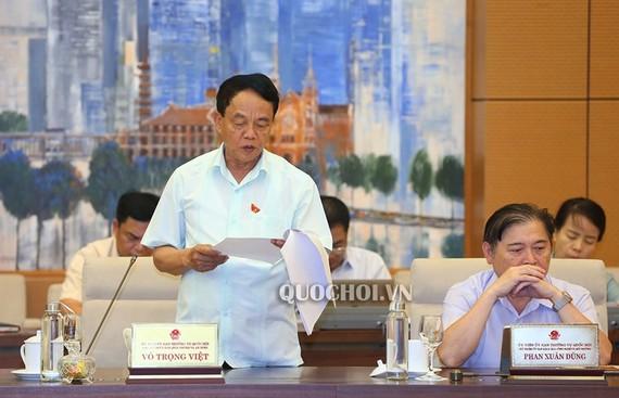 Ông Võ Trọng Việt, Chủ nhiệm Uỷ ban Quốc phòng và An ninh