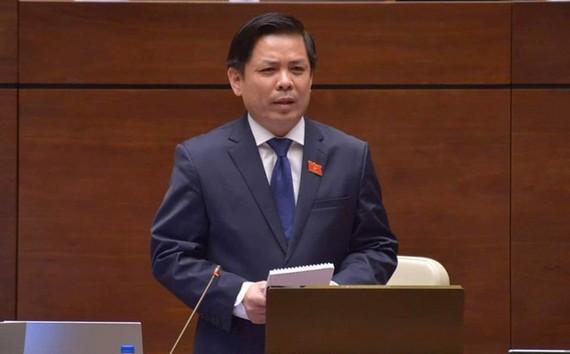Ông Nguyễn Văn Thể, Ủy viên Trung ương Đảng, Bộ trưởng Bộ Giao thông Vận tải