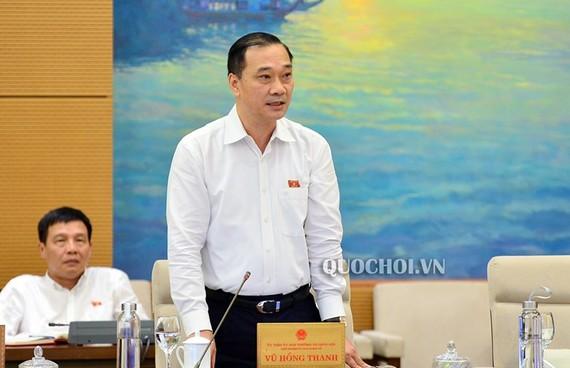 Chủ nhiệm Uỷ ban Kinh tế Vũ Hồng Thanh nhấn mạnh, kết quả thu hồi tài sản do tham nhũng mà có vẫn còn rất thấp