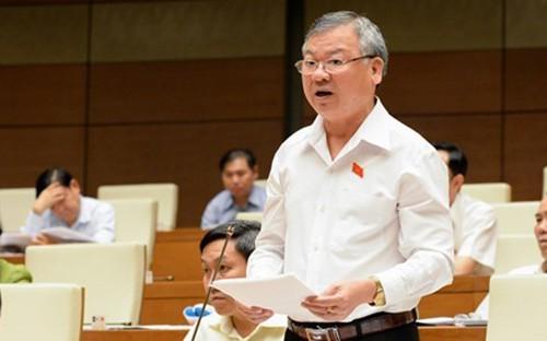 Ông Hồ Văn Năm thôi làm nhiệm vụ đại biểu Quốc hội kể từ ngày 18-9-2019. Nguồn VOV