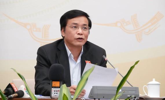 Tổng Thư ký Quốc hội Nguyễn Hạnh Phúc đã công bố kết quả tổng hợp phiếu xin ý kiến đại biểu Quốc hội về chất vấn