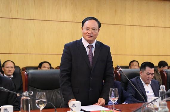 Tân Thứ trưởng Lê Minh Ngân phát biểu nhận nhiệm vụ tại Hội nghị