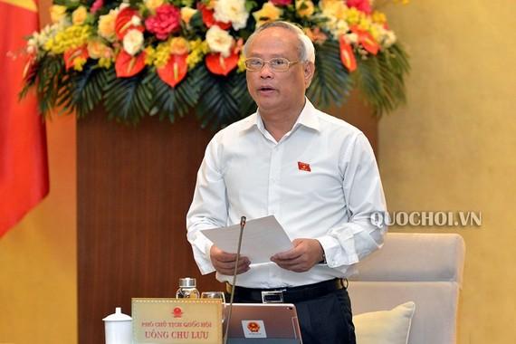 Phó Chủ tịch Quốc hội Uông Chu Lưu kết luận nội dung họp về một cấp chính quyền đô thị ở Đà Nẵng