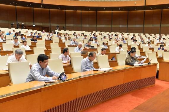 Quốc hội bấm nút phê chuẩn Hiệp định EVFTA sáng 8-6-2020.