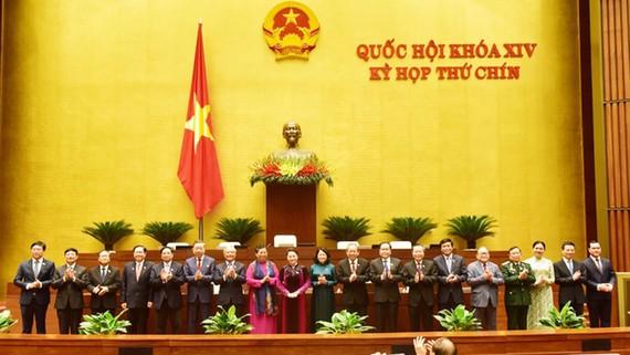 Hội đồng Bầu cử Quốc gia đã ra mắt  Quốc hội sau khi được phê chuẩn
