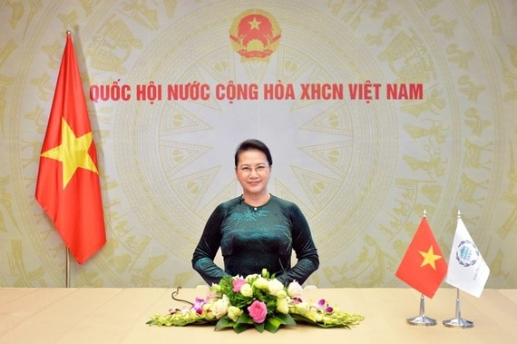 Chủ tịch Quốc hội Nguyễn Thị Kim Ngân. Ảnh: VIẾT CHUNG