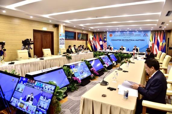 Toàn cảnh phiên họp của Ủy ban Chính trị AIPA 41