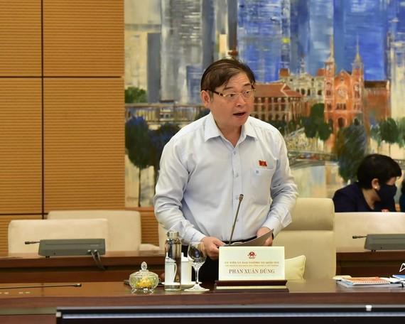 Chủ nhiệm Ủy ban Khoa học, Công nghệ và Môi trường Phan Xuân Dũng
