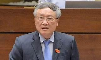 Chánh án Tòa án Nhân dân tối cao Nguyễn Hòa Bình. Ảnh: VIẾT CHUNG