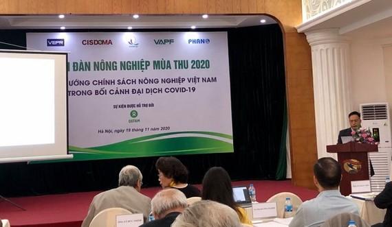 Diễn đàn Nông nghiệp Mùa Thu 2020 là sự kiện lớn nhất của chuỗi các diễn đàn chính sách nông nghiệp Việt Nam