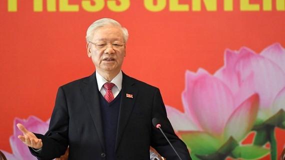 Tổng bí thư, Chủ tịch nước Nguyễn Phú Trọng. Ảnh: QUANG PHÚC