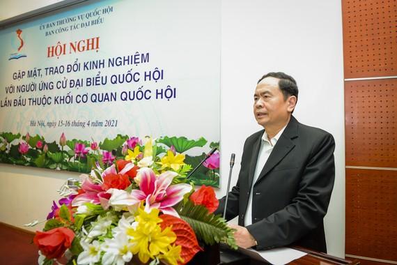 Phó Chủ tịch Thường trực Quốc hội Trần Thanh Mẫn khai mạc hội nghị