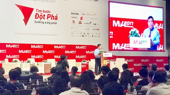 Bộ Trưởng Bộ KH-ĐT phát biểu tại Diễn đàn M&A Việt Nam 2017