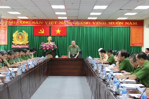 Công an TPHCM đã tổ chức họp sơ kết đánh giá công tác tuần tra, kiểm soát hỗn hợp (Tổ công tác 363)