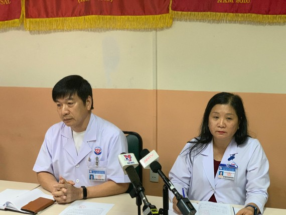Bệnh viện Trưng Vương thông tin người đàn ông nổ súng tự sát tại Khoa Cấp cứu.